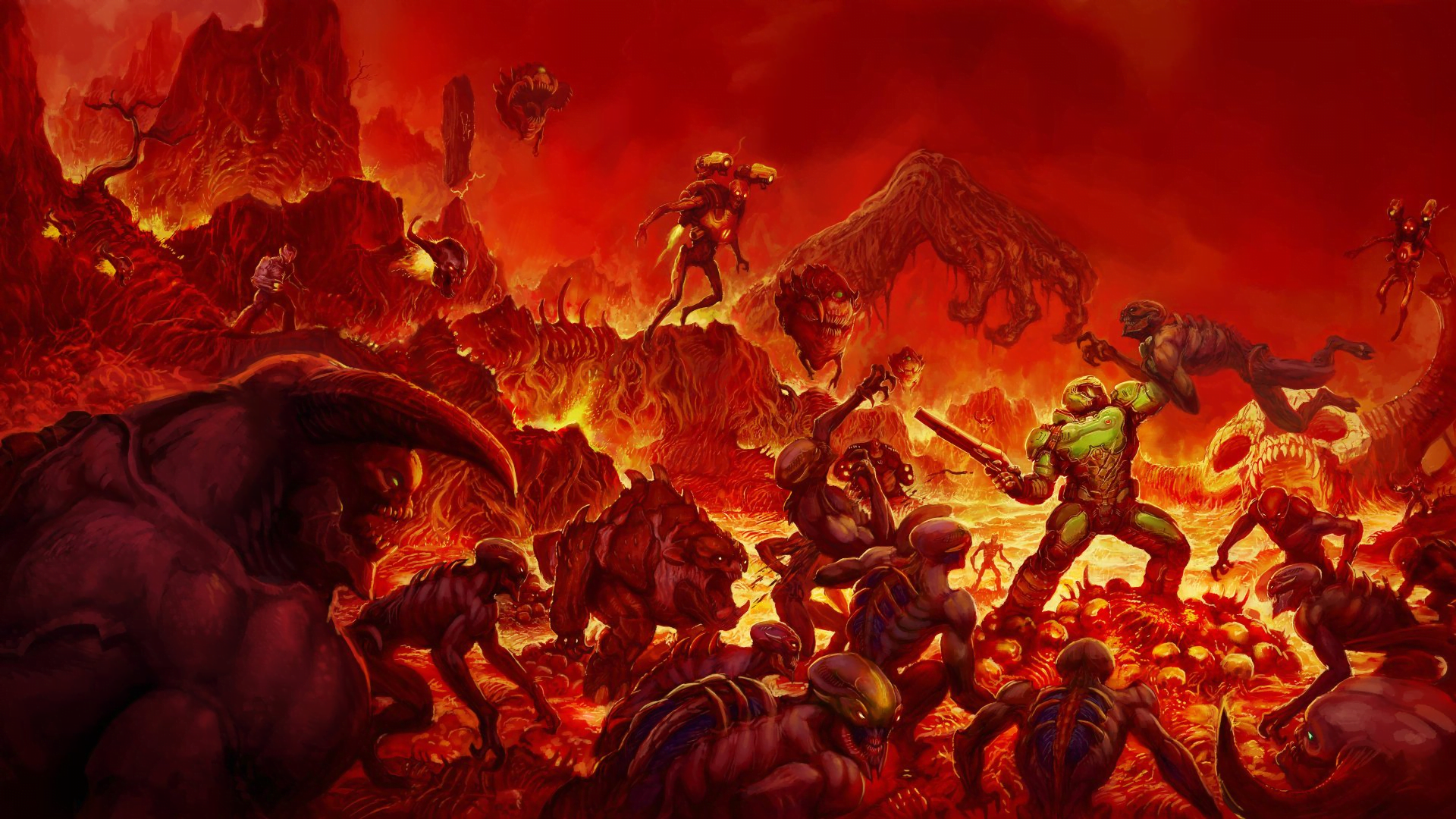 Protagonista Dooma: Doom Slayer